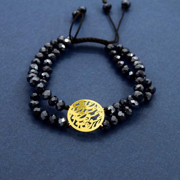 دستبند طلا 18 عیار زنانه کانیار گالری مدل B45