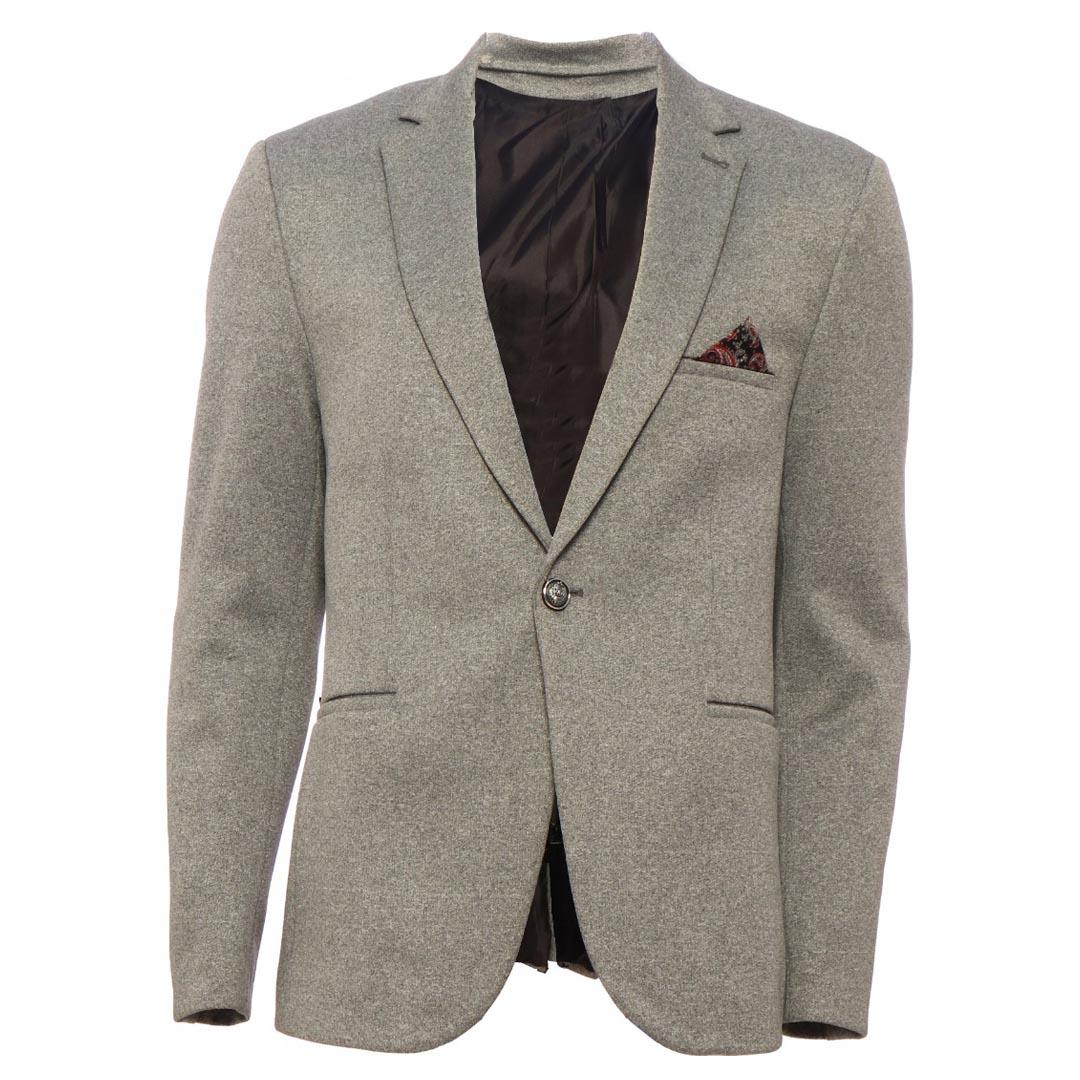 کت تک مردانه کد ۴۵ رنگ طوسی روشن