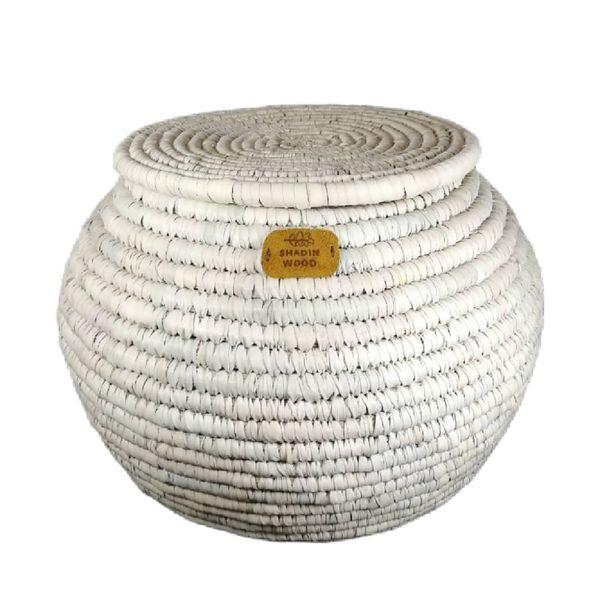 ظرف برنج مدل حصیری خمره ای