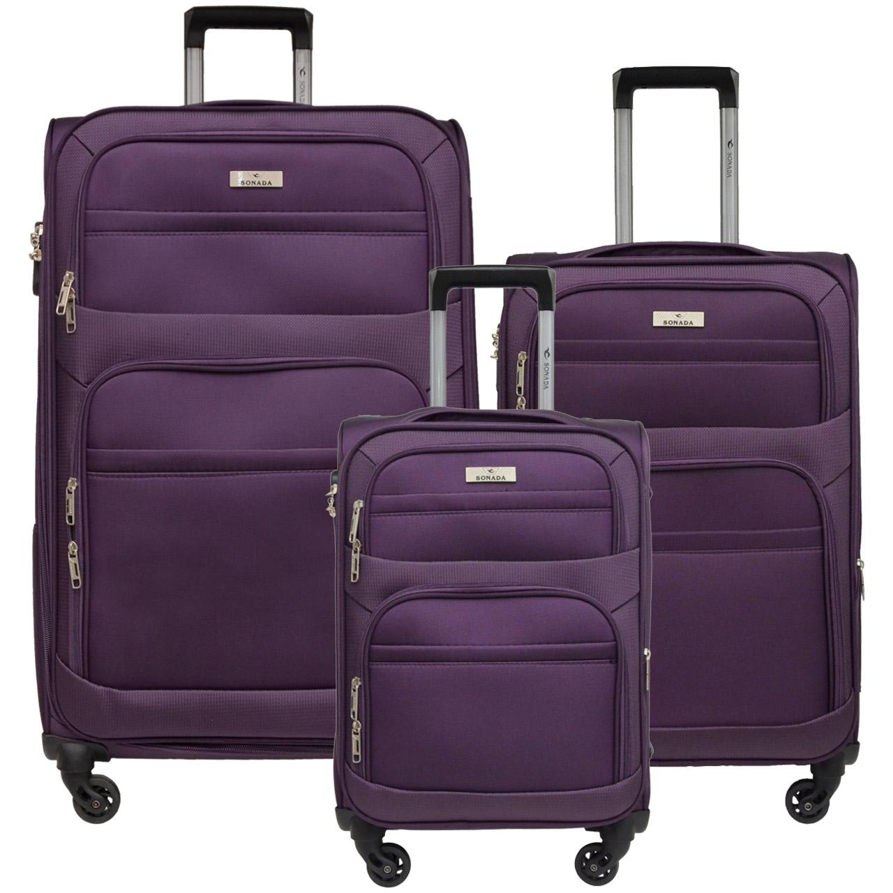 مجموعه سه عددی چمدان سونادا مدل CS 97685