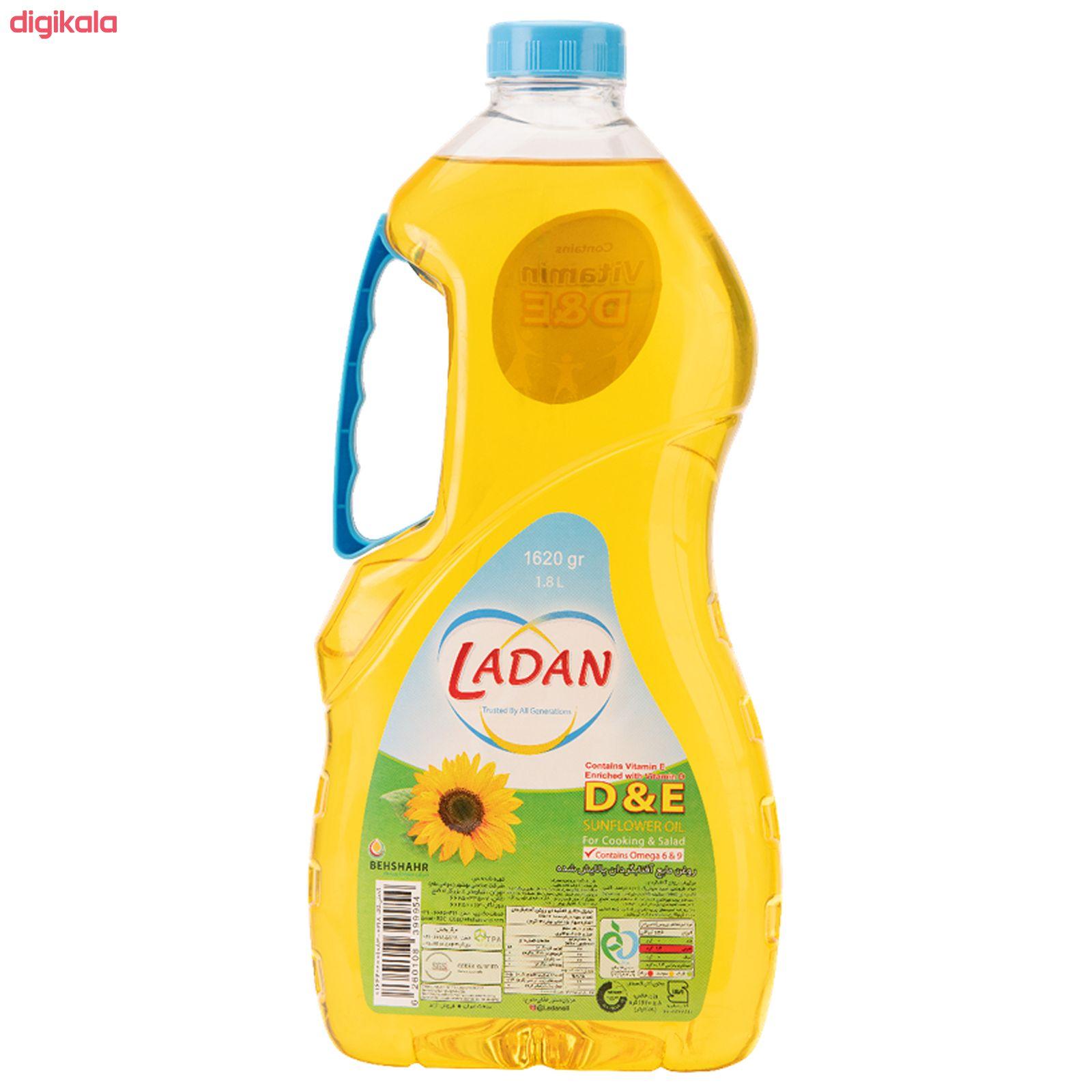 روغن مایع آفتابگردان حاوی ویتامین دی و ای لادن - 1.62  کیلوگرم main 1 3