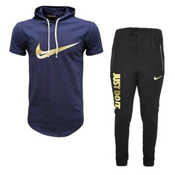 ست تی شرت و شلوار ورزشی مردانه مدل 912022