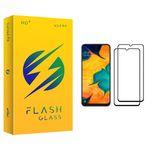 محافظ صفحه نمایش فلش مدل +HD مناسب برای گوشی موبایل سامسونگ Galaxy A30 بسته دو عددی