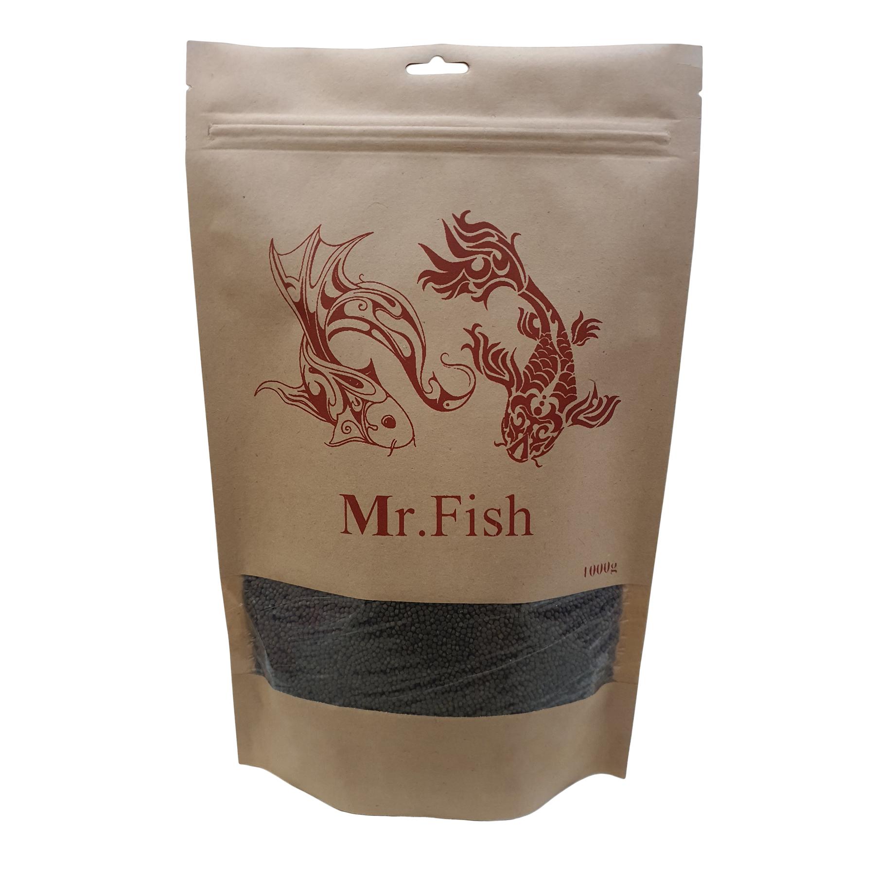 غذای ماهی مستر فیش مدل بیومار 1m وزن 1000 گرم