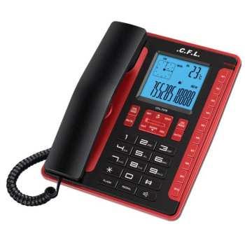 تصویر تلفن رومیزی سی اف ال CFL 7276 C.F.L.7276 telephone