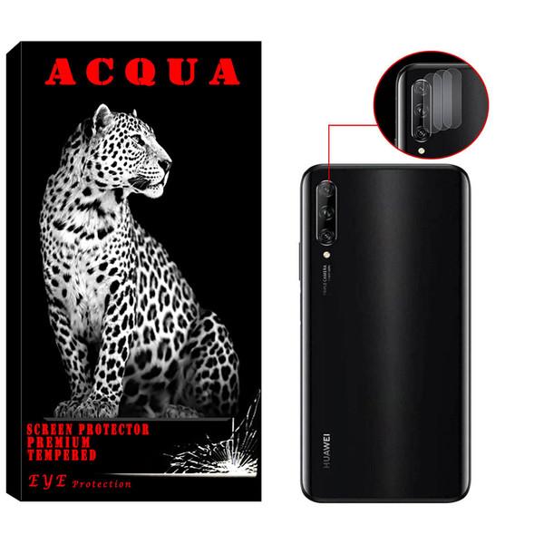 محافظ لنز دوربین آکوا مدل LN مناسب برای گوشی موبایل هوآوی Y9s بسته 3 عددی