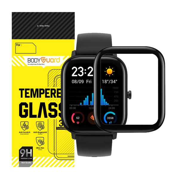 محافظ صفحه نمایش بادیگارد مدل AGTS مناسب برای ساعت هوشمند شیائومی Huami Amazfit GTS