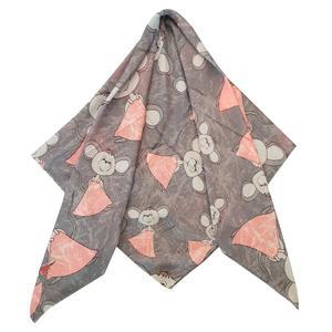 روسری دخترانه ترمه گالری مدل موش کد san_022