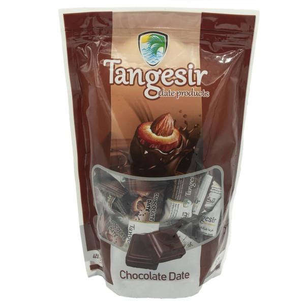 خرما شکلاتی مغزدار کاکائویی تنگسیر - 450 گرم