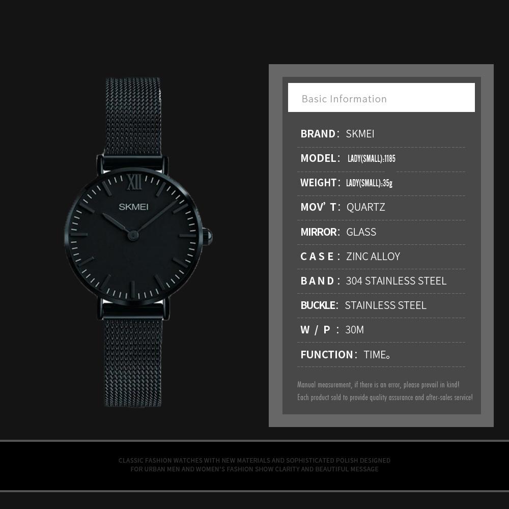 ساعت مچی عقربه ای زنانه اسکمی مدل 1185M              ارزان