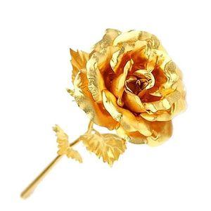گل مصنوعی مدل گلدن رز کد 123