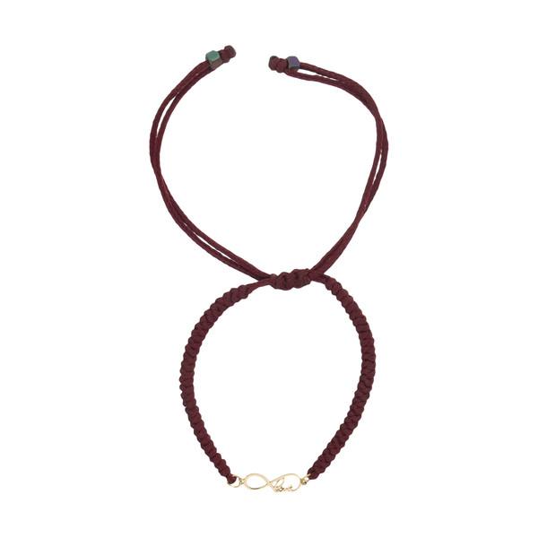 دستبند طلا 18 عیار زنانه نیوانی مدل Ba1016