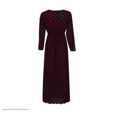 پیراهن زنانه طرح خال خالی کد Th011