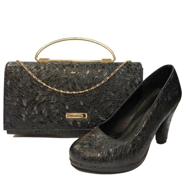 ست کیف و کفش زنانه مدل کاج 138
