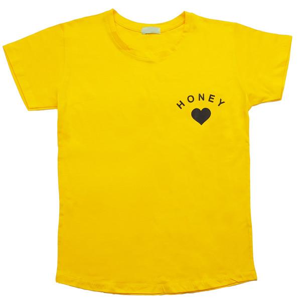 تی شرت زنانه کد 1034D