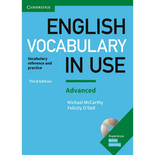 کتاب English vocabulary in use advanced 3rd اثر Michael McCarthy and Felicity ODell انتشارات cambridge