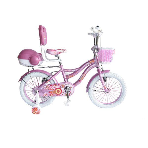 دوچرخه شهری المپیا مدل بچه گانه کد 16198 سایز 16