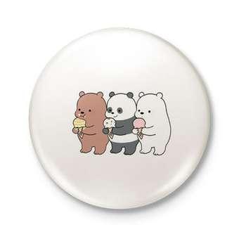 پیکسل طرح خرس های سه قلو کد DDP467