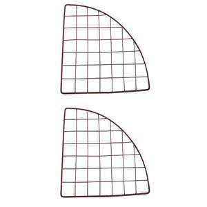 قفسه فلزی مدل مشبک بسته 2 عددی