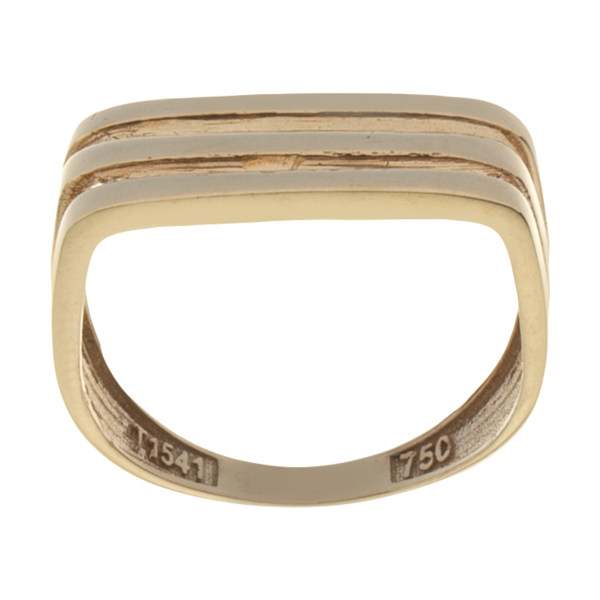 انگشتر طلا 18 عیار زنانه میو گلد مدل GD1180-55