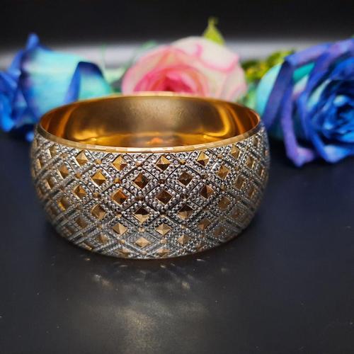 النگو طلا 18 عیار زنانه گالری یارطلا کد AL25-W-4