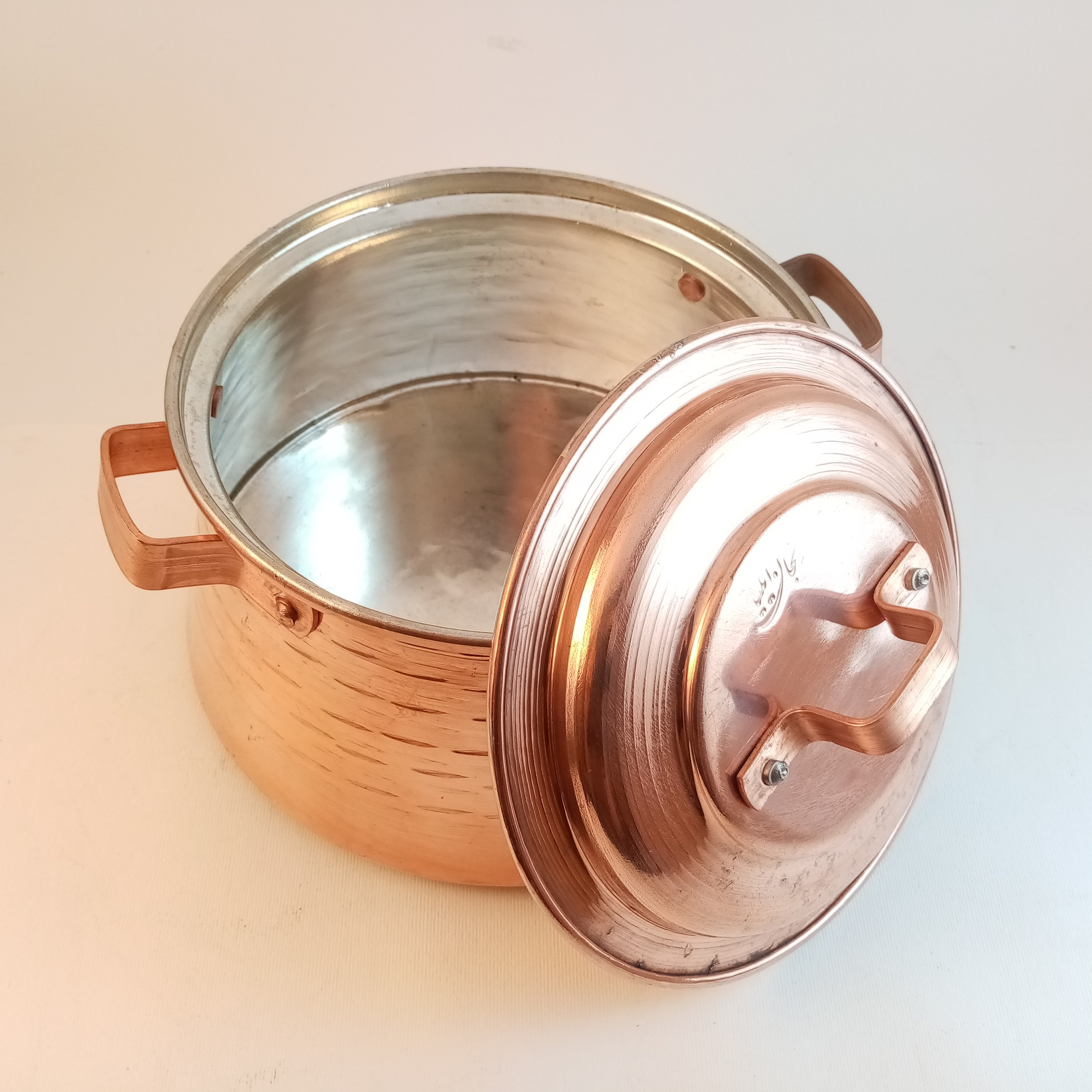 Copper pan, Model M25
