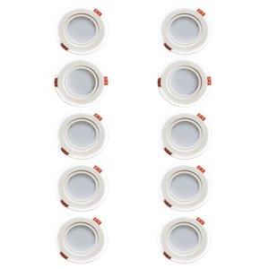 پنل ال ای دی 7 وات ققنوس مدل 01 بسته 10 عددی