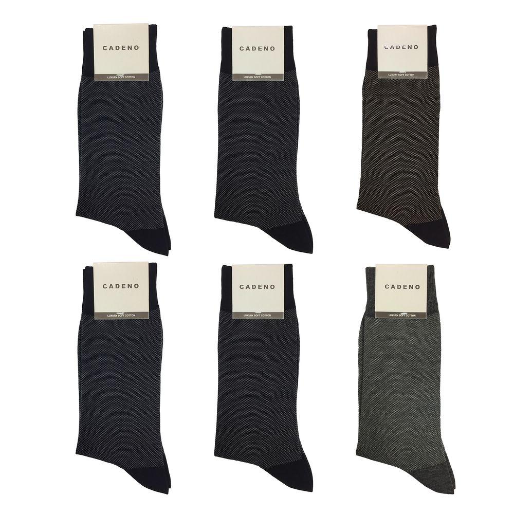 جوراب مردانه کادنو کد CAME1001 مجموعه 6 عددی