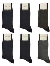 جوراب مردانه کادنو کد CAME1001 مجموعه 6 عددی -  - 1