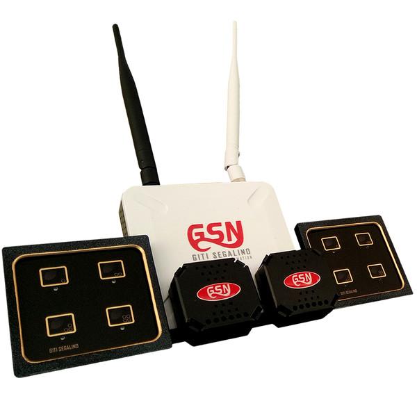 کلید هوشمند گیتی سگالی نو مدل GSN2 به همراه سرور مرکزی