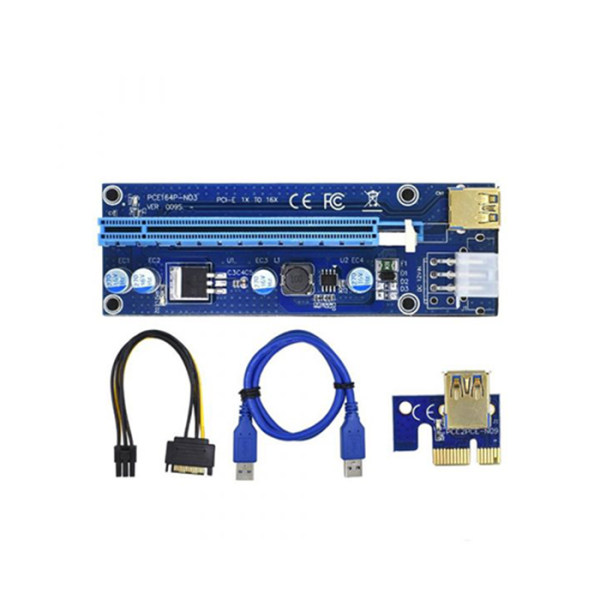 رایزر کارت گرافیک تبدیل PCI EXPRESS 1X به 16Xمدل 009S Gold