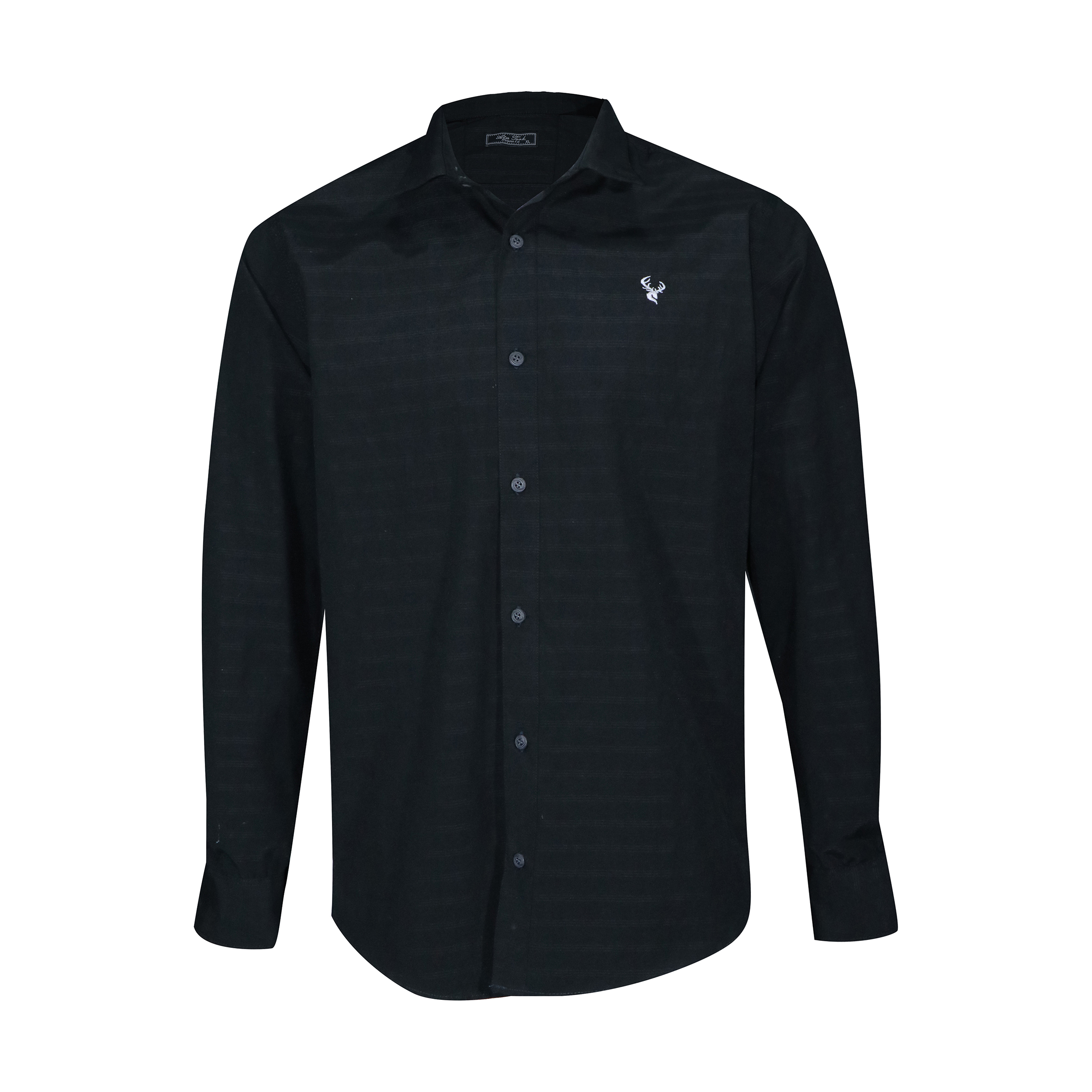 پیراهن آستین بلند مردانه آتا ترک مدل A21 رنگ مشکی