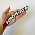 برچسب لاستیک خودرو مدل d3 طرح HankookR بسته چهار عددی thumb 1
