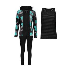 ست 3 تکه لباس ورزشی زنانه کد Mhr-429