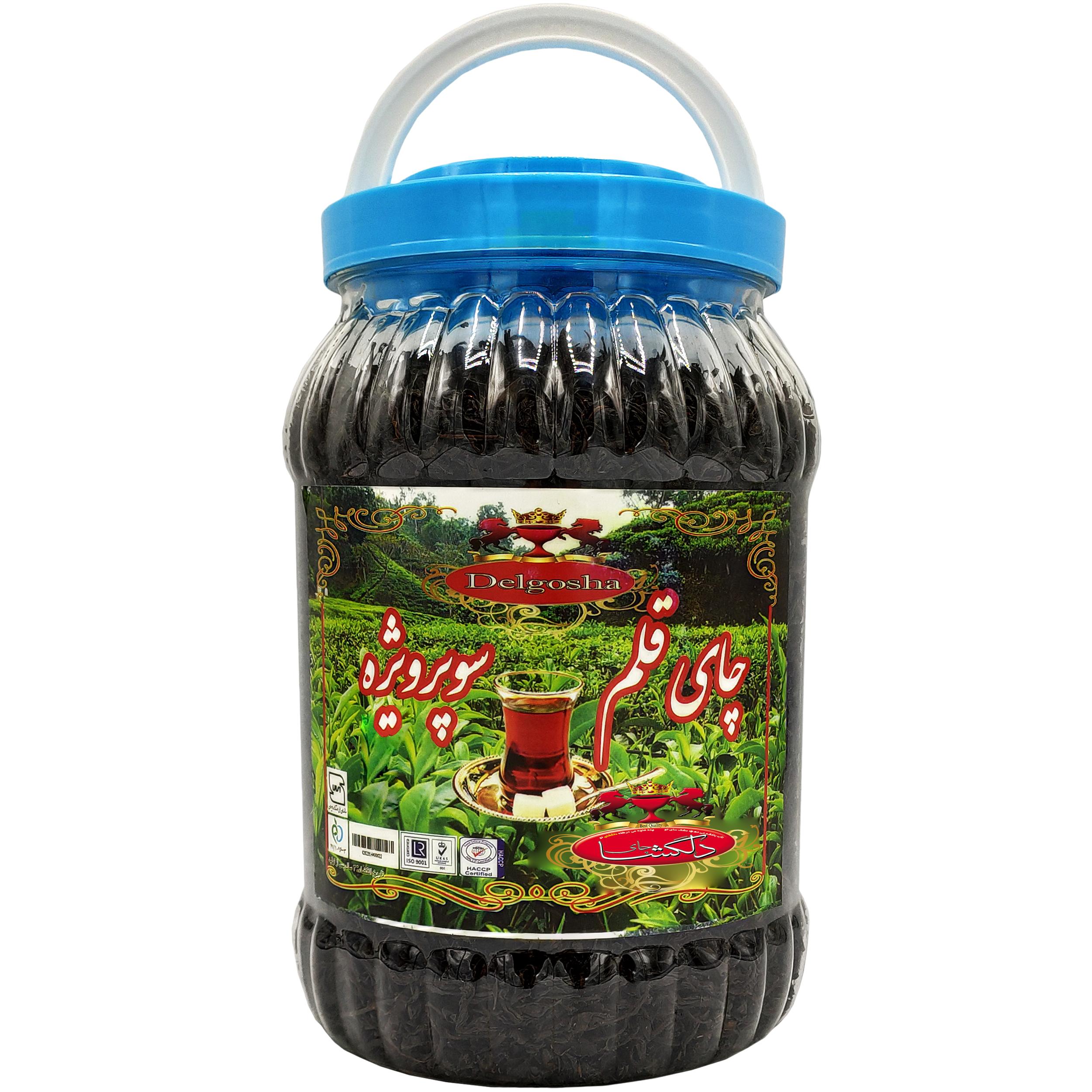 چای سیاه قلم ایرانی بهاره دلگشا - 500 گرم