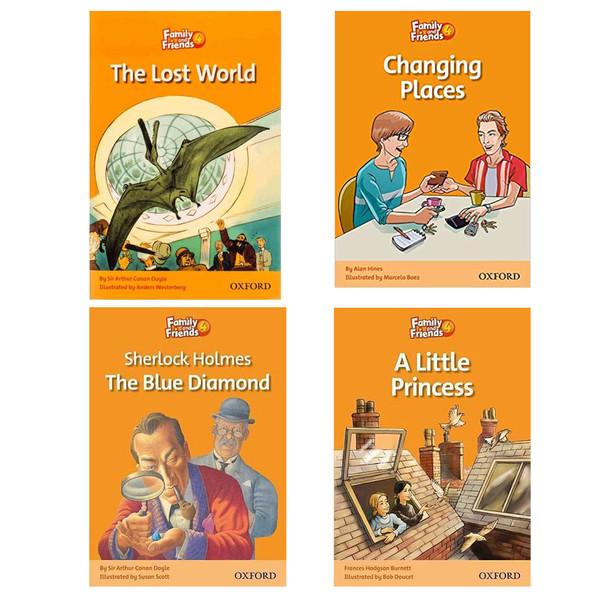 کتاب Family And Friends 4 اثر جمعی از نویسندگان انتشارات هدف نوین 4 جلدی
