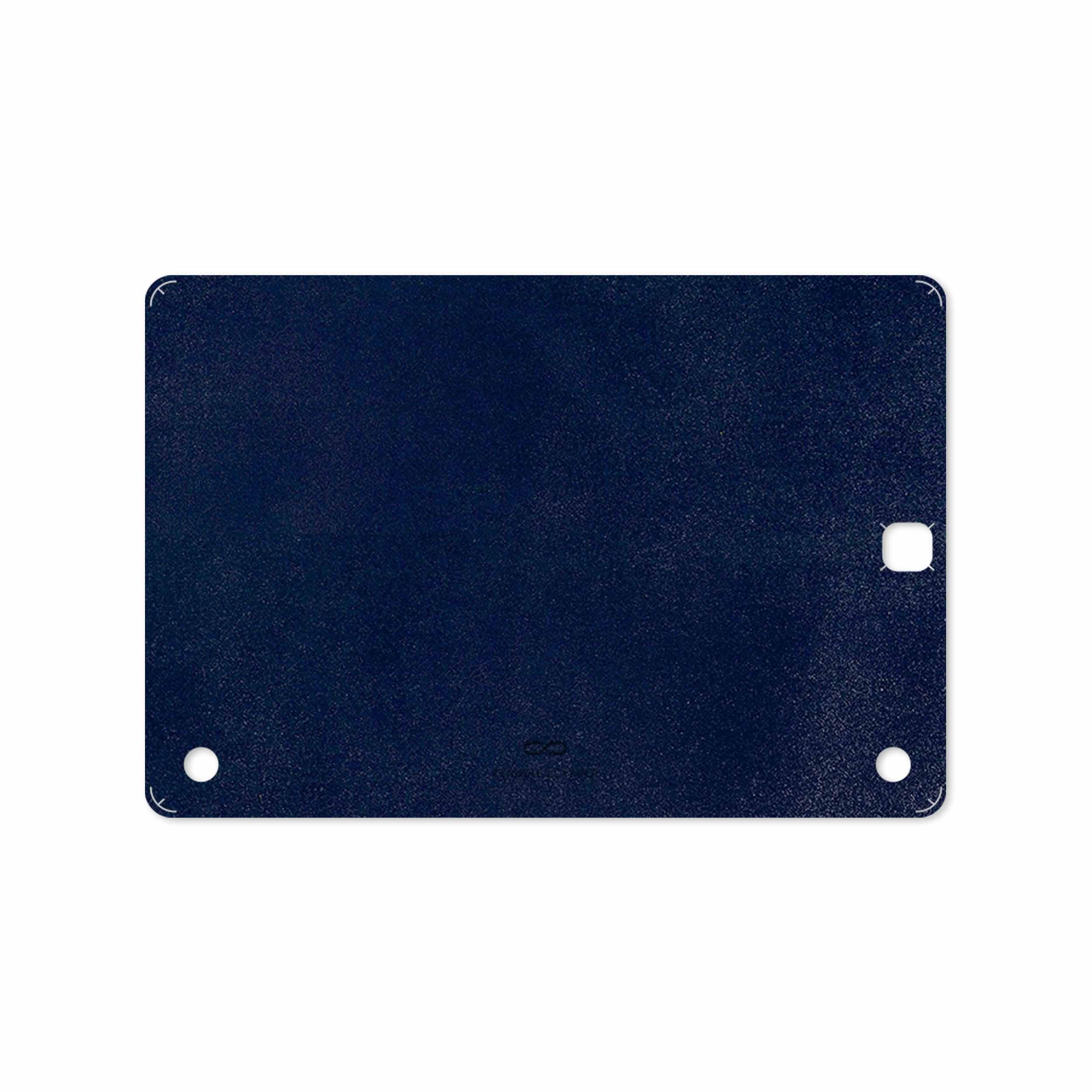 بررسی و خرید [با تخفیف]                                     برچسب پوششی ماهوت مدل Deep-Blue-Leather مناسب برای تبلت سامسونگ Galaxy Tab A 9.7 2015 T555                             اورجینال