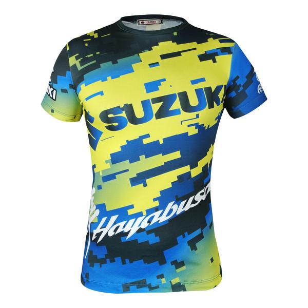 تی شرت موتور سواری مدل SUZUKI