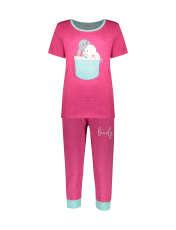 ست تی شرت و شلوارک راحتی زنانه مادر مدل 2041102-66 -  - 1