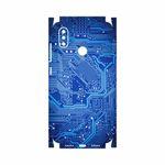 برچسب پوششی ماهوت مدل Blue Printed Circuit Board-FullSkin مناسب برای گوشی موبایل شیائومی Mi 8