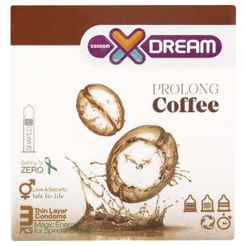 کاندوم ایکس دریم مدل Coffee بسته 3 عددی