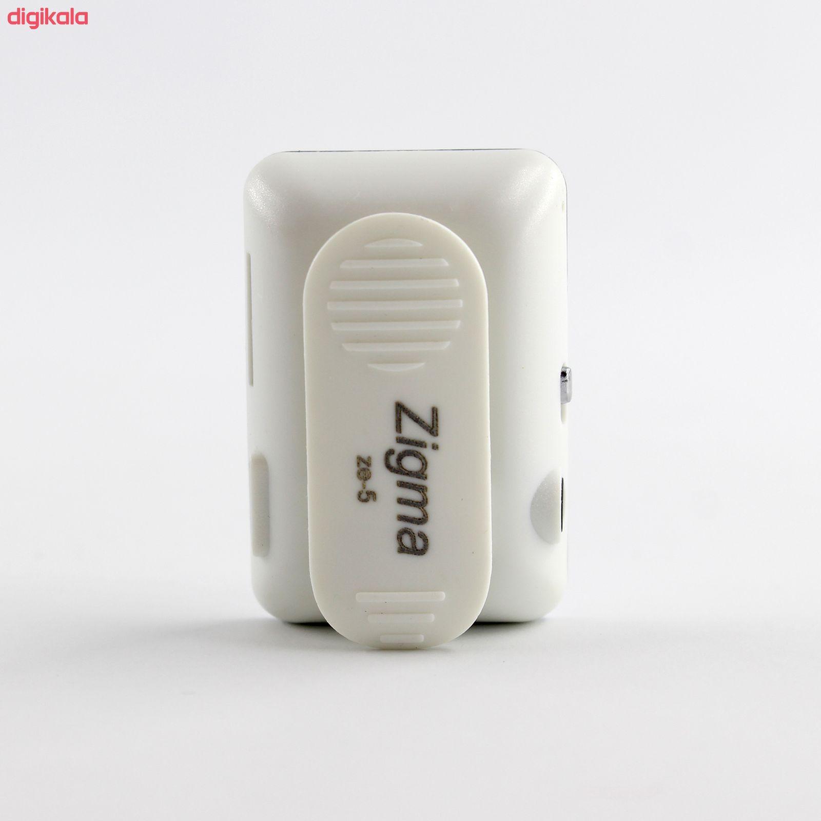 پخش کننده موسیقی زیگما مدل ZE-5S - ظرفیت 8 گیگابایت main 1 6