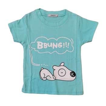 تی شرت آستین کوتاه بچگانه مدل هاپو کد H2