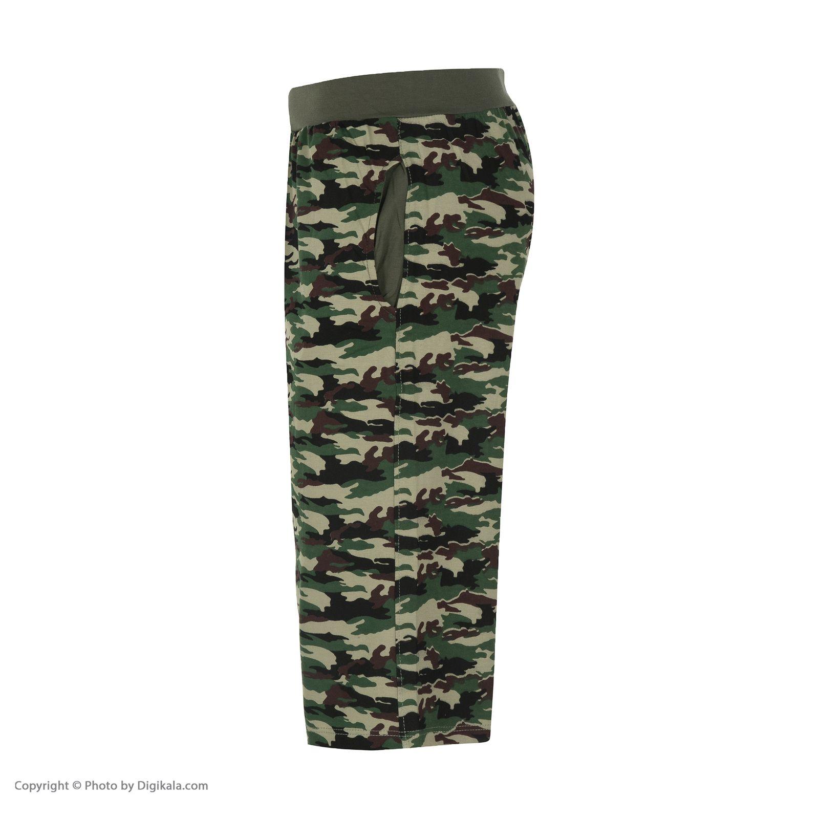 ست تی شرت و شلوارک راحتی مردانه مادر مدل 2041108-49 -  - 8
