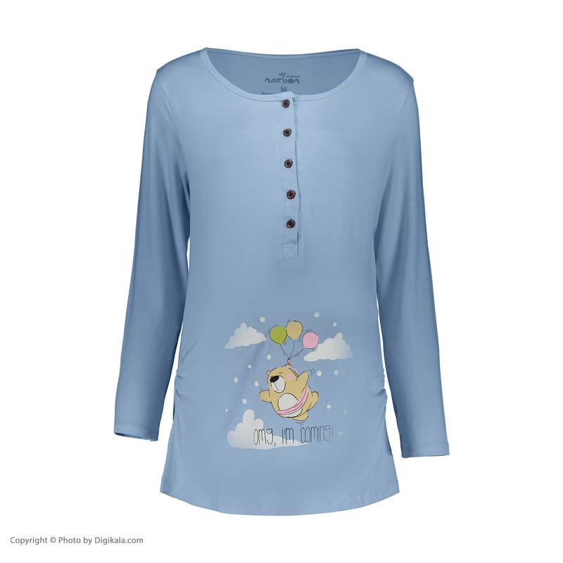 ست تی شرت و شلوار بارداری ناربن مدل 1521296-50