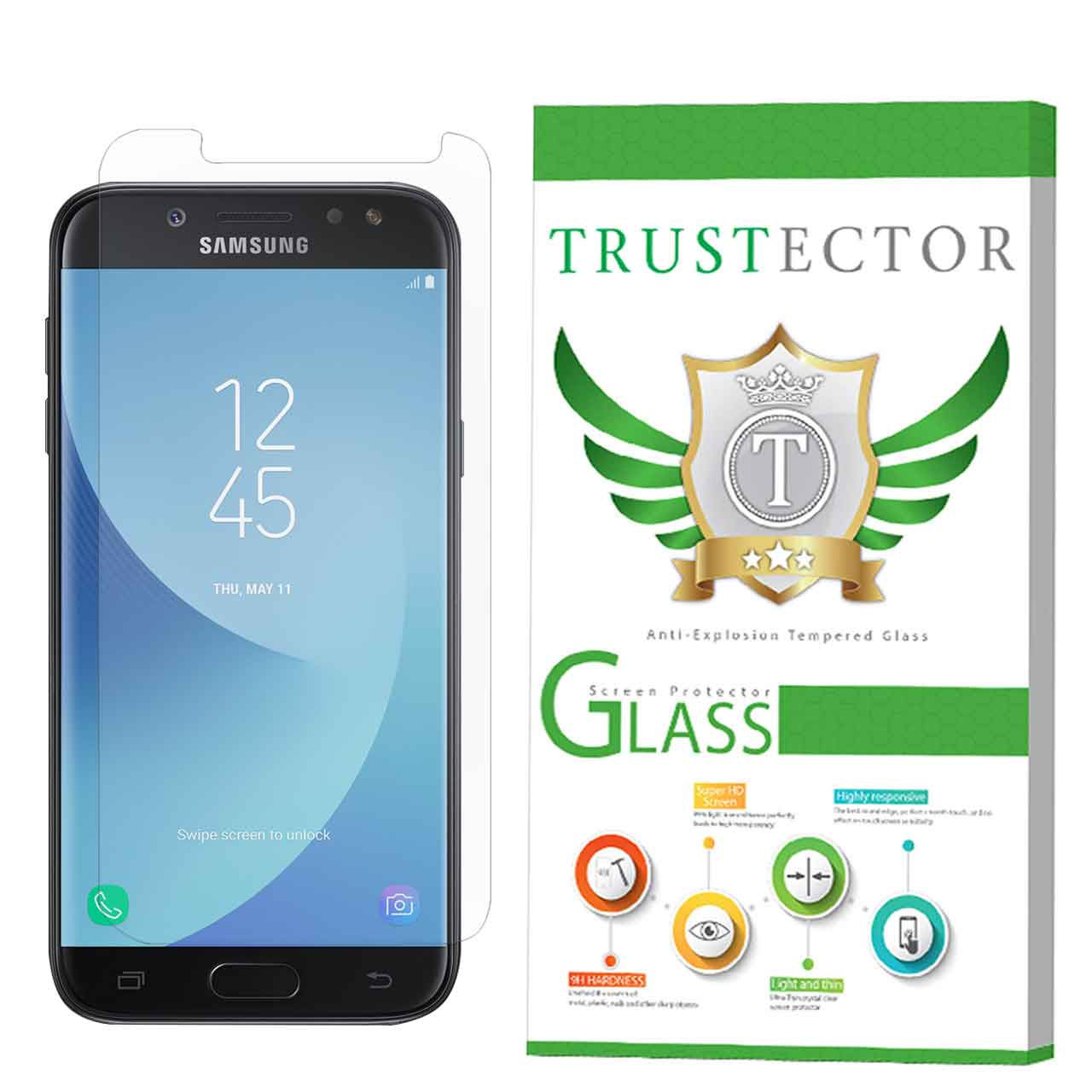 محافظ صفحه نمایش تراستکتور مدل SMP-T مناسب برای گوشی موبایل سامسونگ Galaxy J5 Pro 2017 / J5 2017