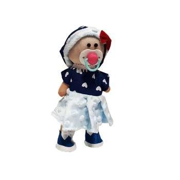 عروسک مدل دختر روسی کد 880 ارتفاع 21 سانتی متر