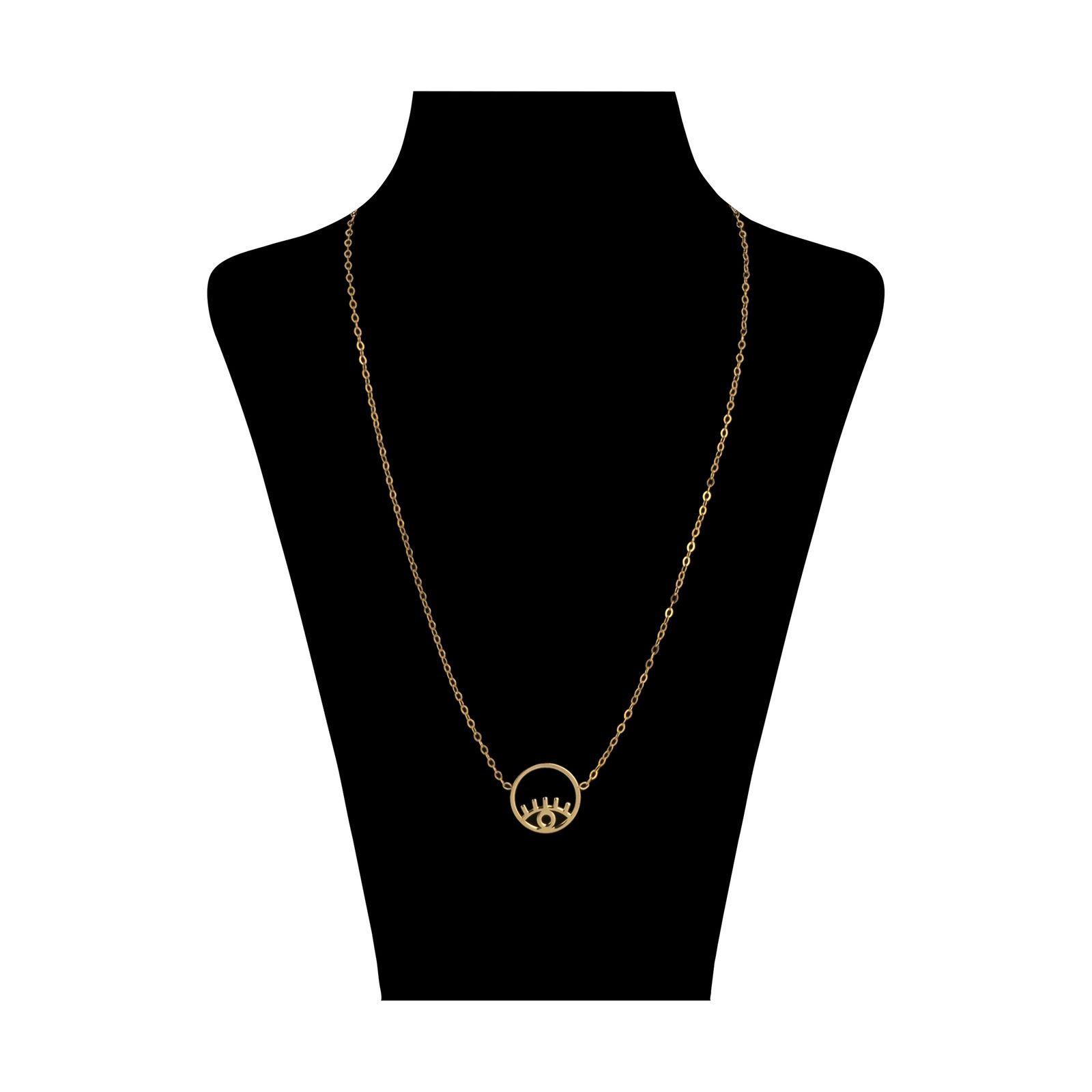 گردنبند طلا 18 عیار زنانه میو گلد مدل GD620 -  - 2