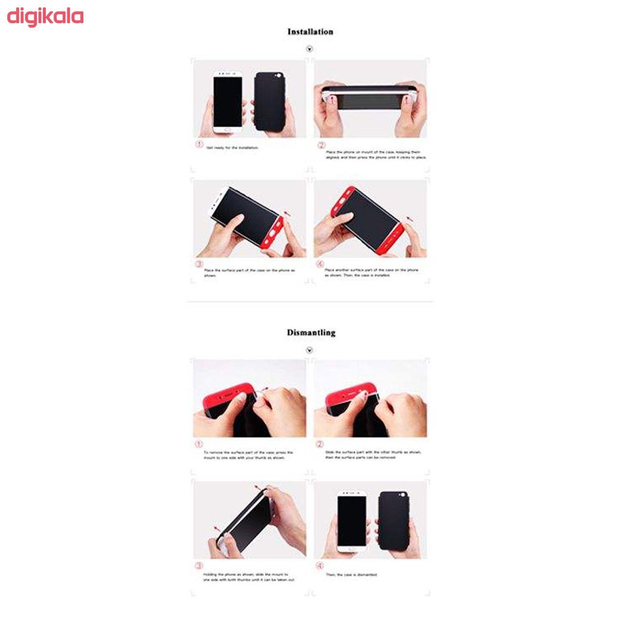 کاور 360 درجه جی کی کی مدل G-02 مناسب برای گوشی موبایل سامسونگ Galaxy A10 main 1 7