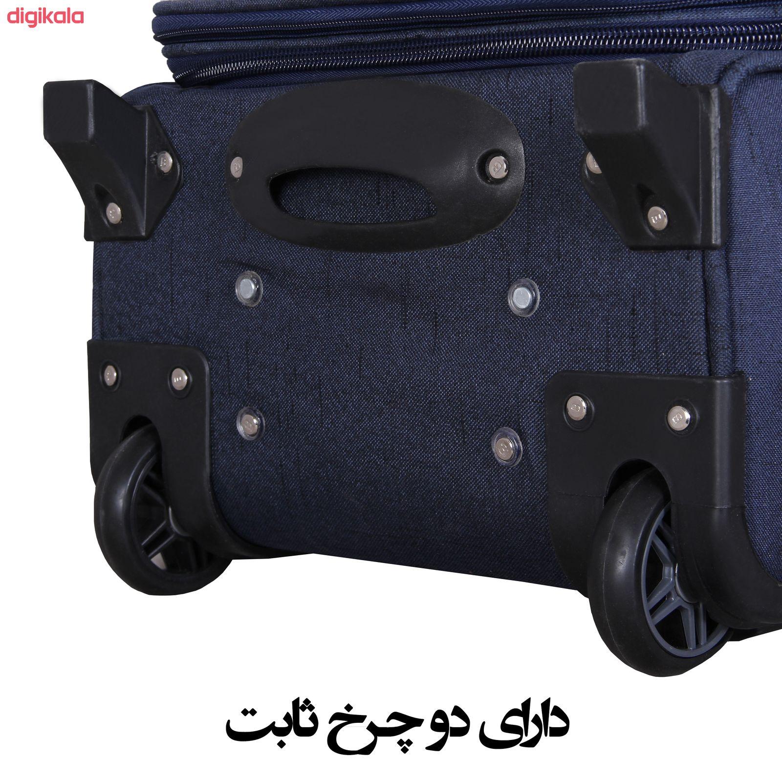 مجموعه سه عددی چمدان کد 2301A main 1 9